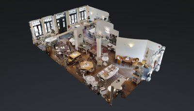 Cafe Moller 3D Model