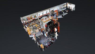 Hellweg Druckerei 3D Model