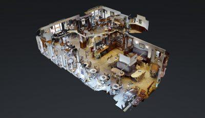 Lamäng Brasserie 3D Model