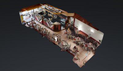 Eiscafé Venezia Remor 3D Model
