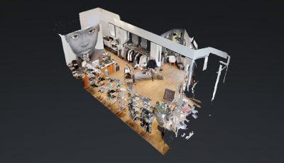 Mende Schuhe & Leder 3D Model