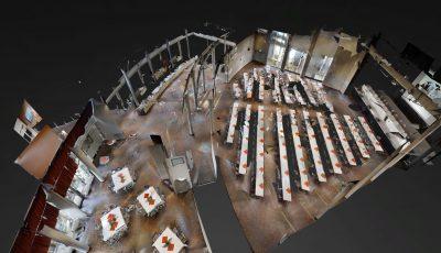 Stadthalle Soest – Großer Saal für Tagungen mit parlamentarischer Bestuhlung