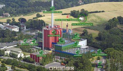 AMK – Müllheizkraftwerk Iserlohn 3D Model